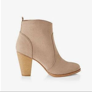 Express Western Ankle Booties